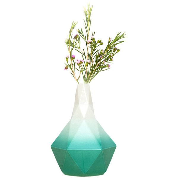 Bud Vase Jade 58 Cad Liked On Polyvore Featuring Home Home