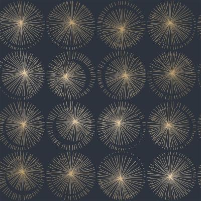 Goodbye Moon Midnight Peel And Stick Wallpaper 56 Sq Ft Peel And Stick Wallpaper Removable Wallpaper Geometric Removable Wallpaper