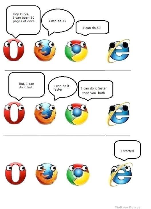 Still Sleeping Funniest Internet Explorer Memes Internet Funny