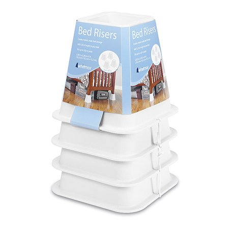 Best Home With Images Bed Risers Whitmor College Dorm 400 x 300