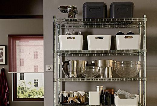 Scaffali Dispensa Ikea.Contenitori Per Alimenti Ikea Cucina Ikea Dispensa Cucina