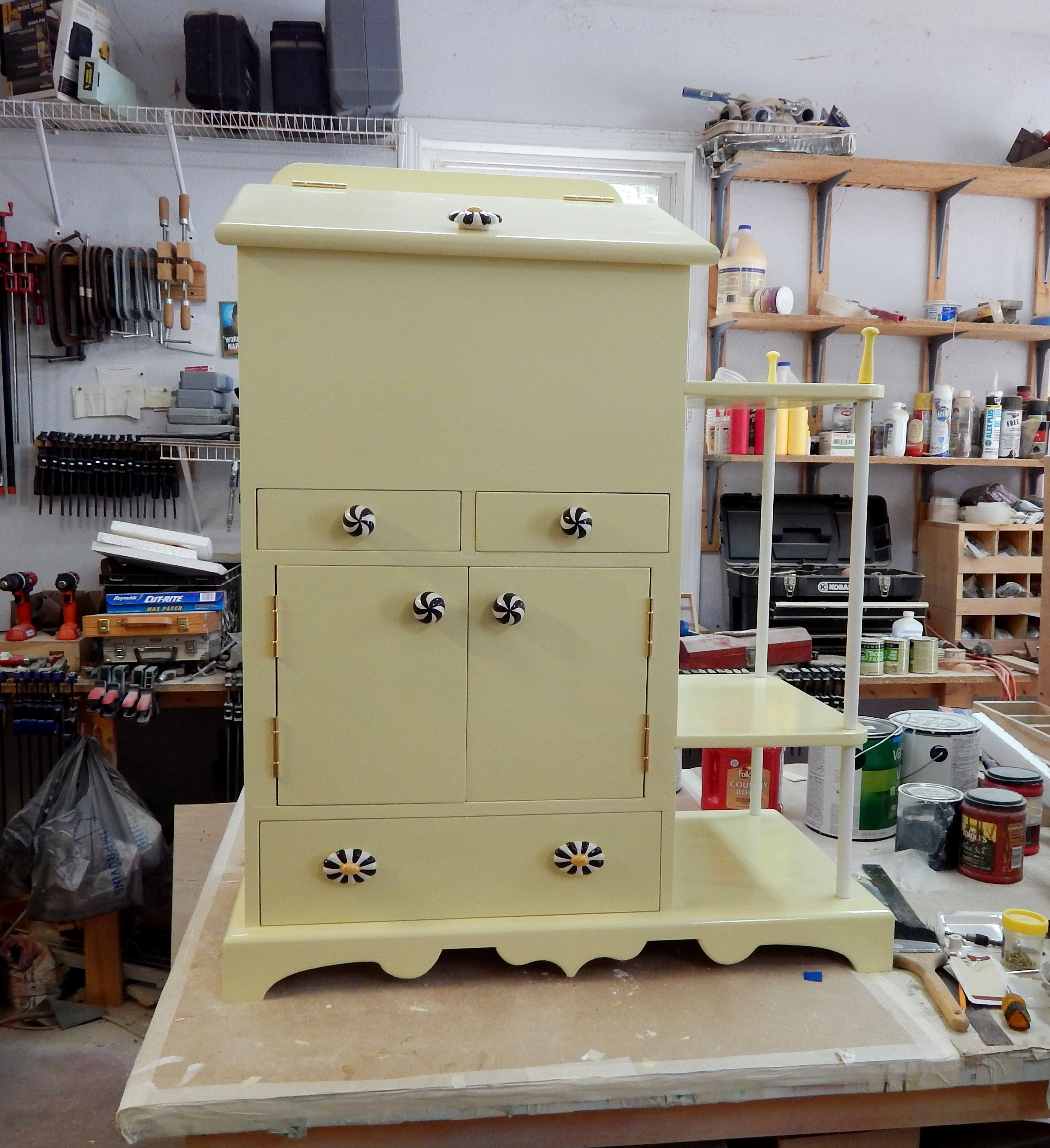 Custom Designed Pet Pantry With Side Shelves Pet Pantry Pet Food