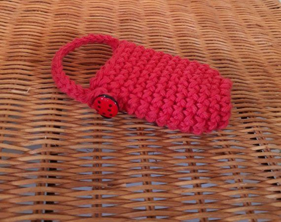 Crochet Hand Sanitizer Holder Cozy Hand Sanitizer Holder Hand