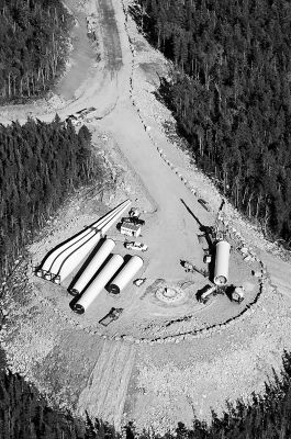 Granite Reliable Nh Wind Turbine Pieces And Platform