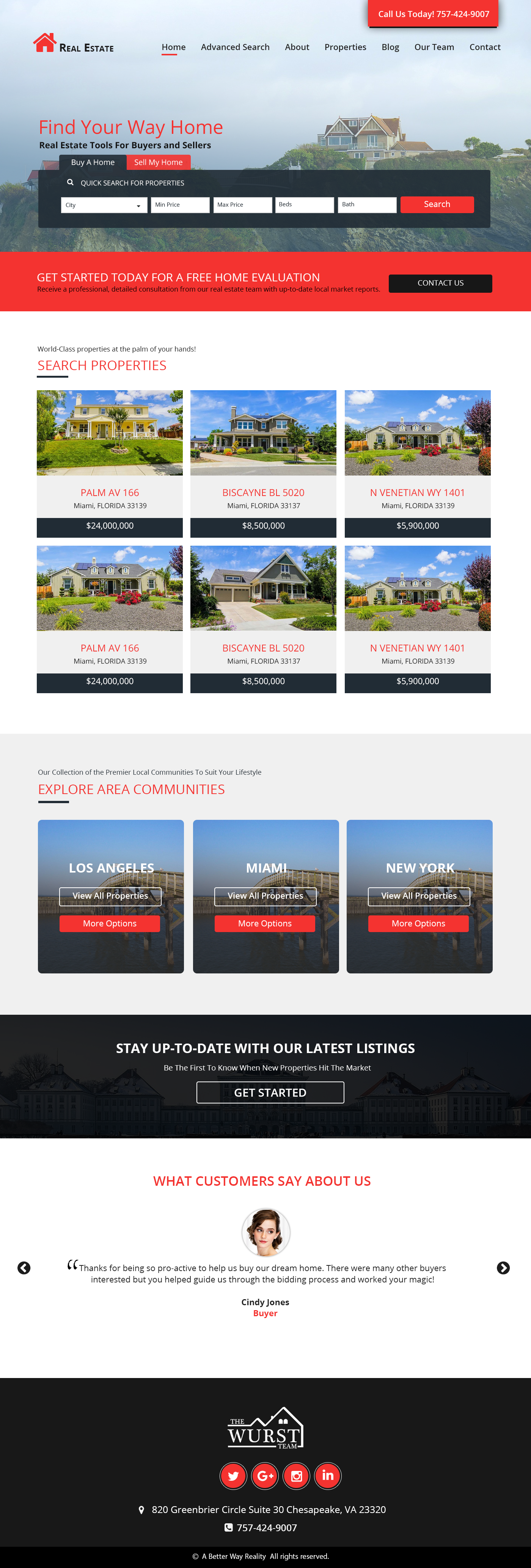 esceneric realestate real estate design Real estates