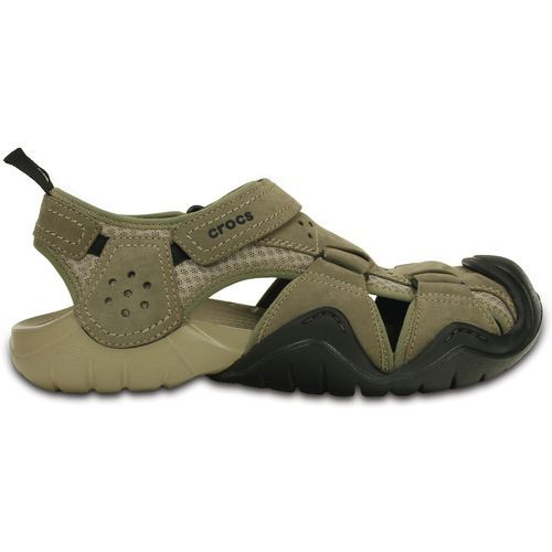 c62e59893dd8 Crocs™ Men s Swiftwater Leather Fisherman Sandals