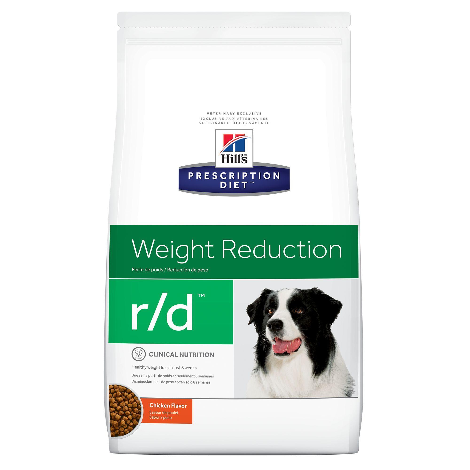 Hill S Prescription Diet R D Weight Reduction Dog Food Chicken