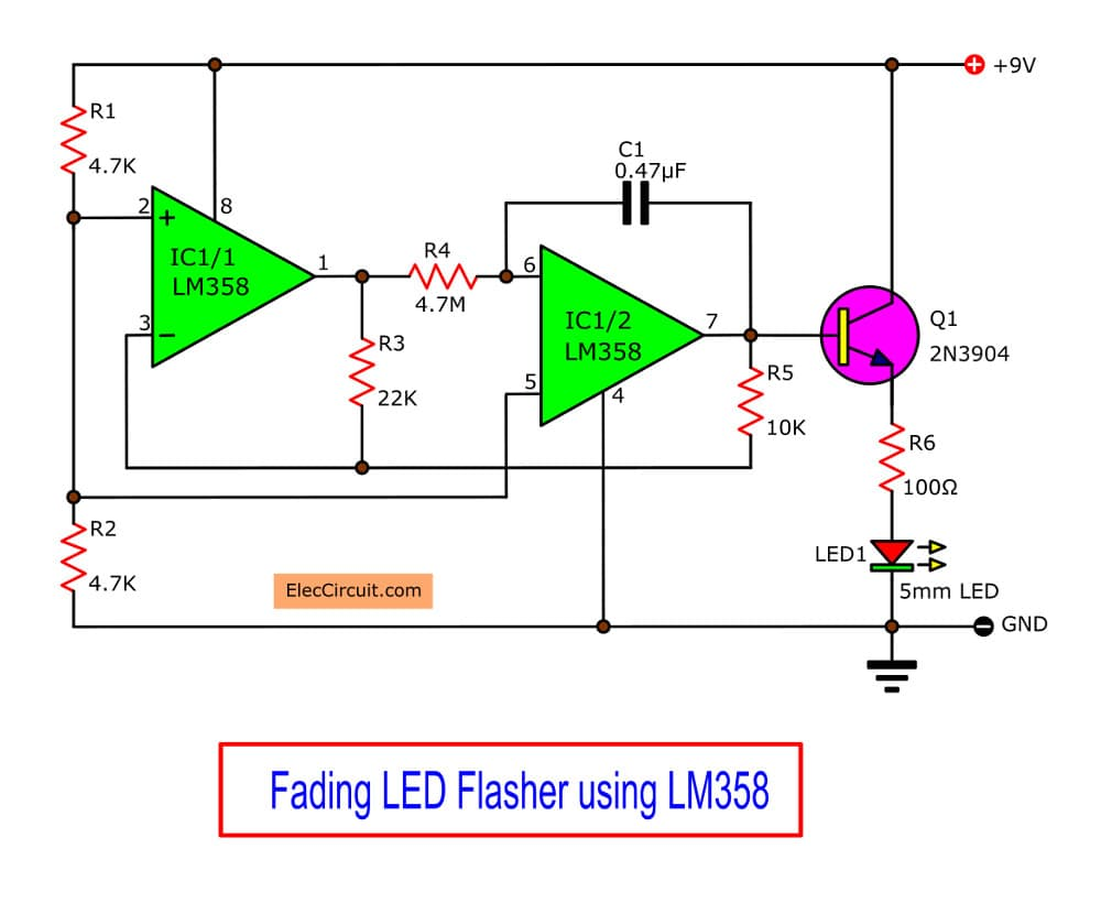 Pin On Led Flasher