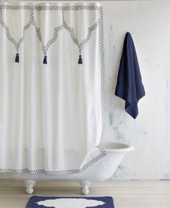 John Robshaw Iswar Shower Curtain Reviews Shower Curtains