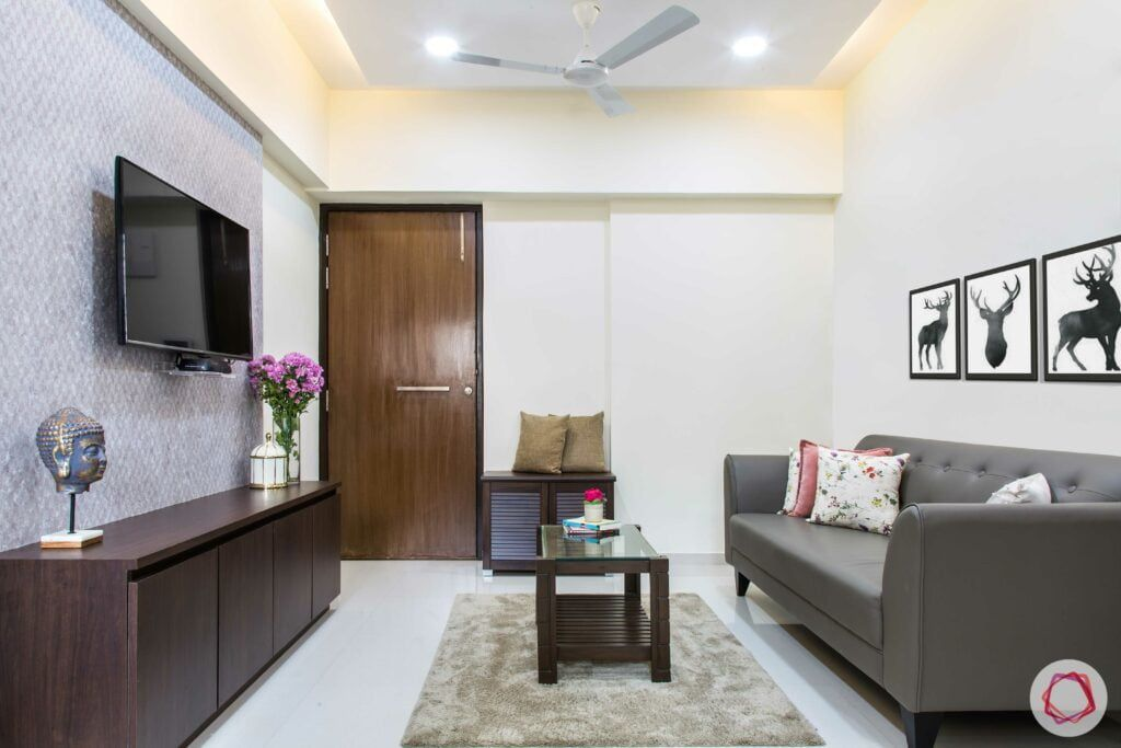 How To Design A Space Efficient 1bhk Flat Interior Design Flat
