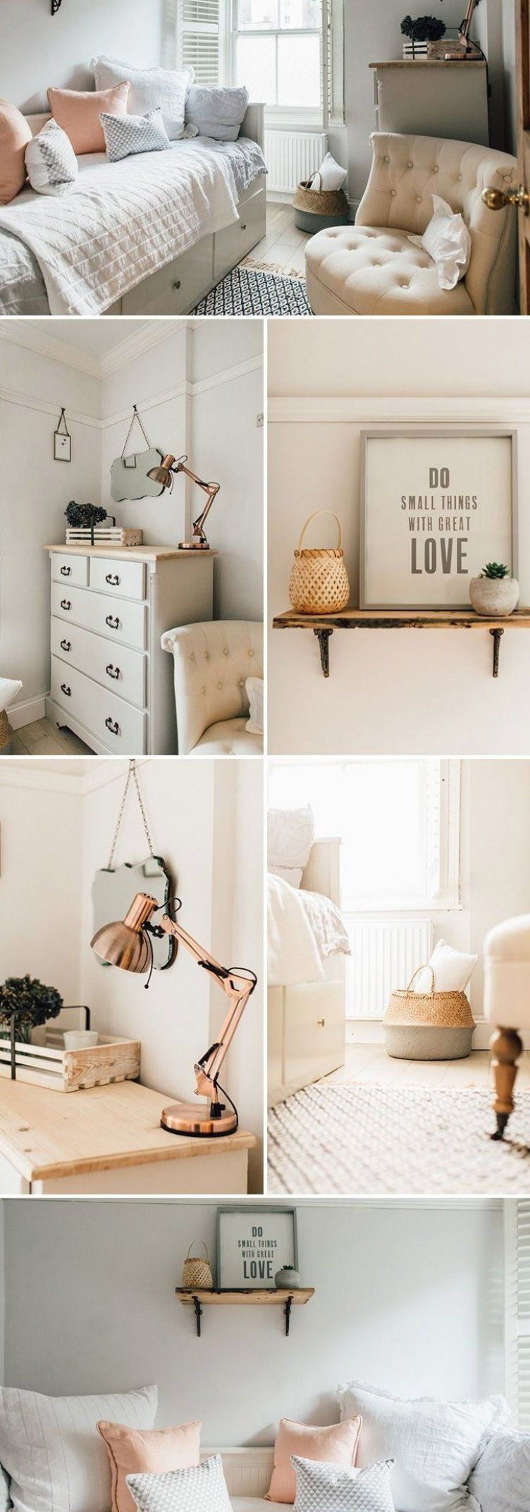 guest room decor ideas on A Light And Airy Guest Bedroom Guest Bedroom Decor Ideas White And Peach Bed Airy Bed Bedroom D Guest Bedroom Decor Guest Room Decor Bedroom Interior