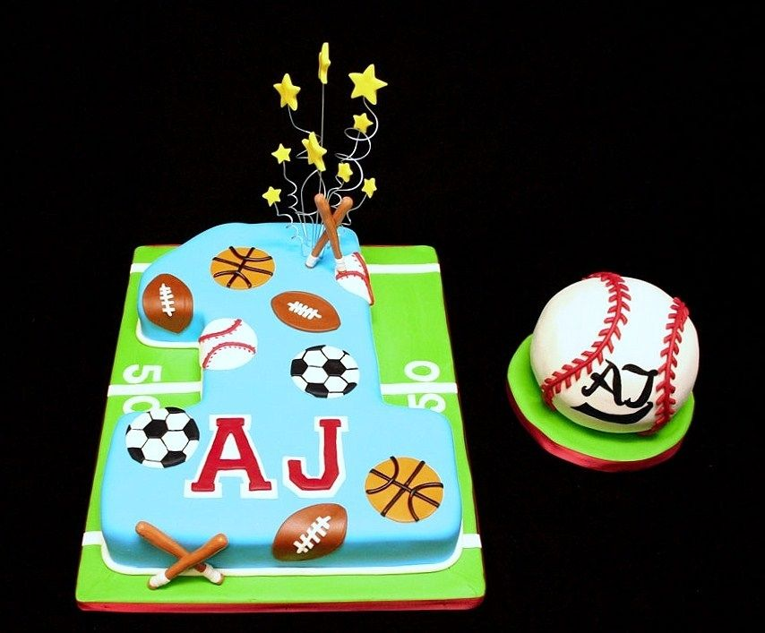 images of multi sports decorated cakes Google Search cake