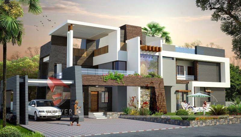 Best Elevations For Luxury Buildings Home Elevation House