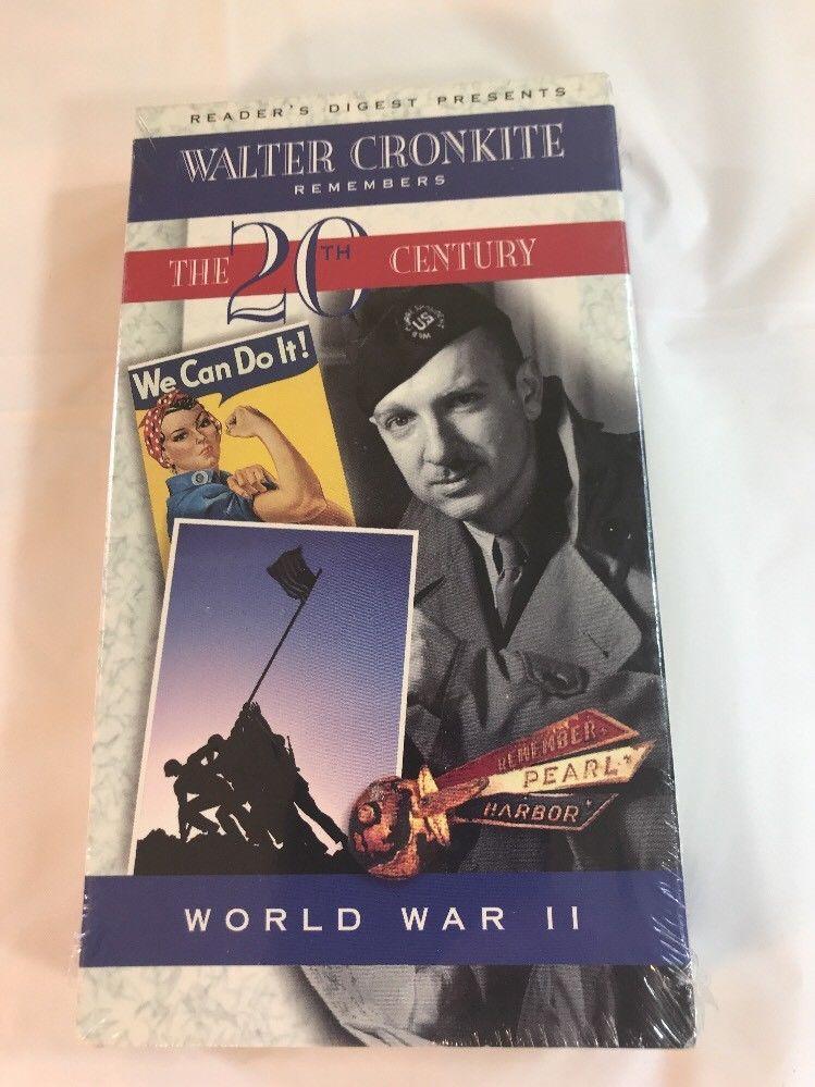 Walter Cronkite Remembers The 20th Century World War Ii Brand New