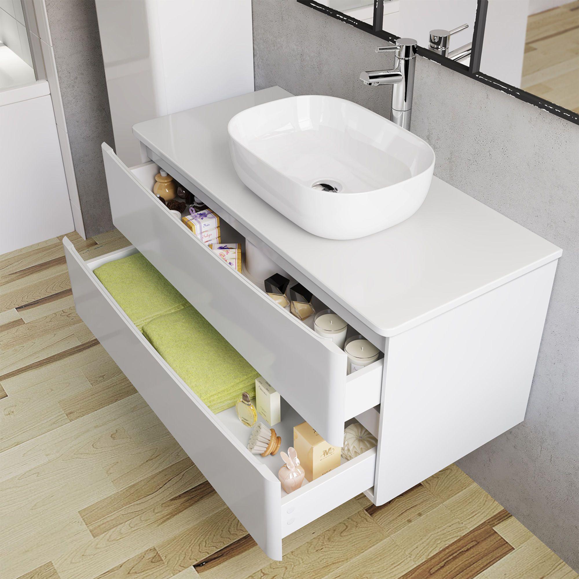 Austin Vanity Unit Colette Basin 1000mm Soak Com Vanity