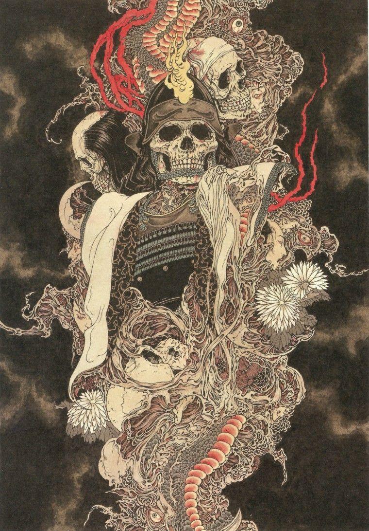 takato yamamoto в 2020 г | Картинки с черепами, Темный арт ...