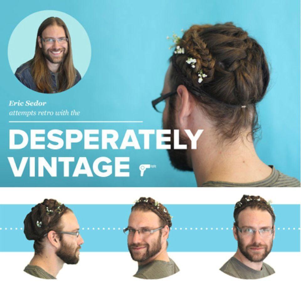 Men With Fancy Lady Hair Seen On Reddit Girly Hairstyles Womens Hairstyles Long Hair Styles Men
