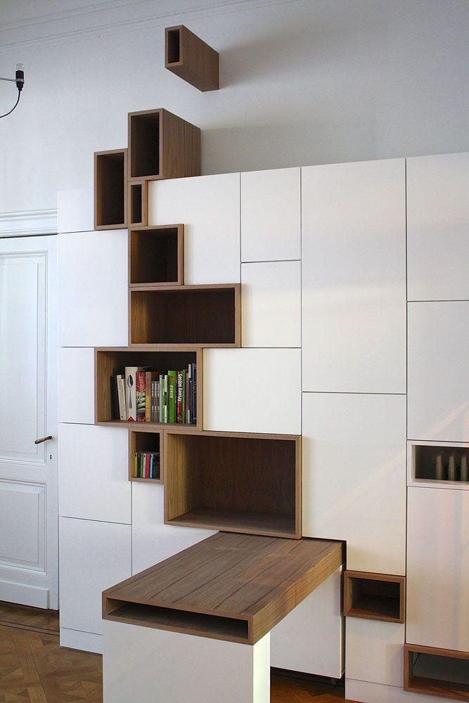 cuisine blanche et niches en bois design pinterest niche en bois cuisine blanche et niche. Black Bedroom Furniture Sets. Home Design Ideas