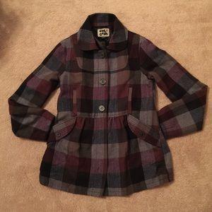 Volcom Jackets & Blazers - Volcom Jacket size Medium M Cute! Purple/Black