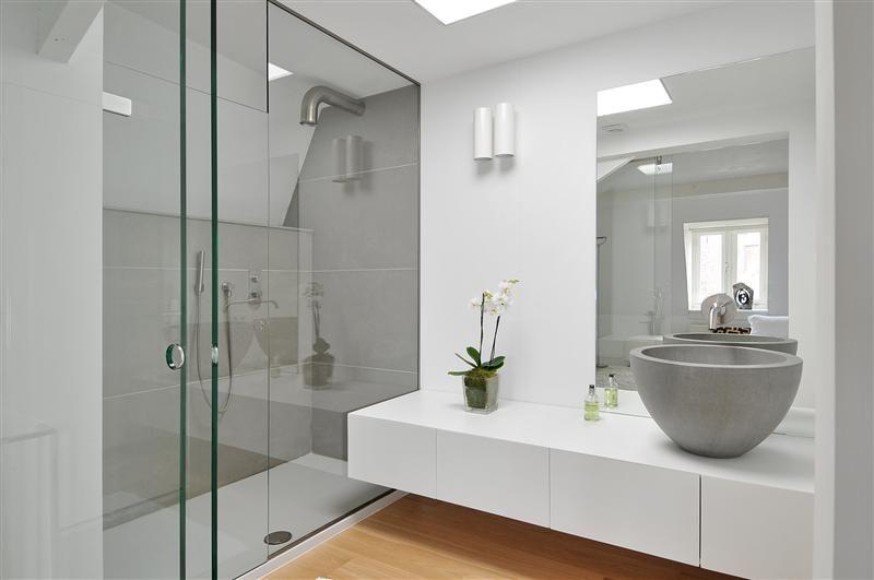 Prachtige badkamer van boffi italiaans design op hoog niveau