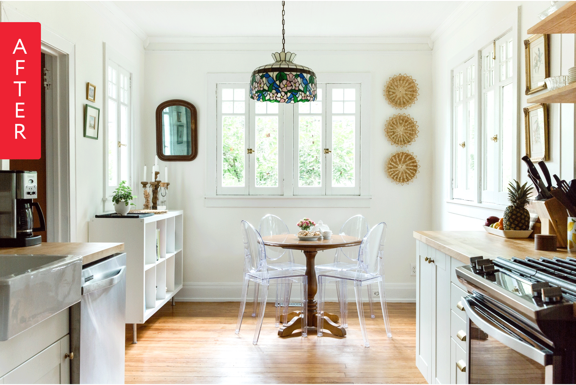 Before & After: DIY Novices Transform a Dilapidated Kitchen
