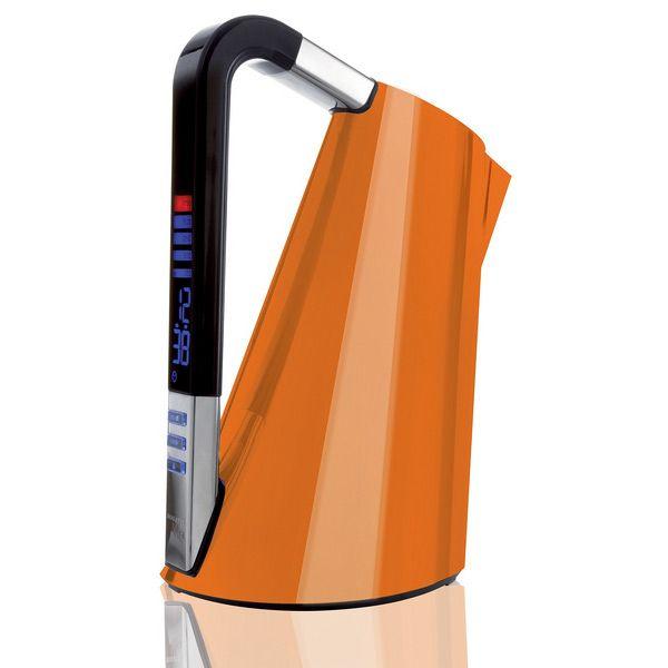 Edelstahl Wasserkocher Vera 1,75 l schwarz | Wasserkocher | Pinterest