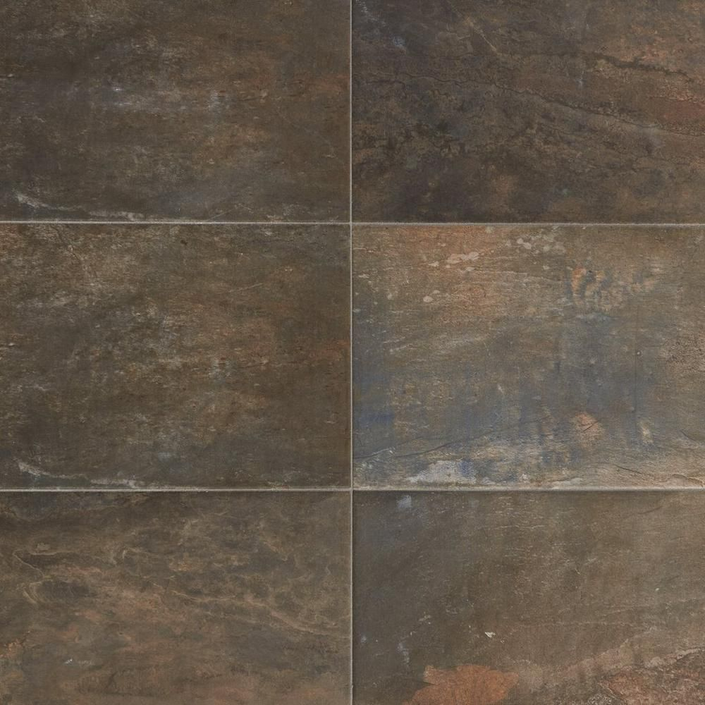 Evolution Ardesia Porcelain Tile With Images Brown Porcelain Tiles Porcelain Tile Stone Look Tile