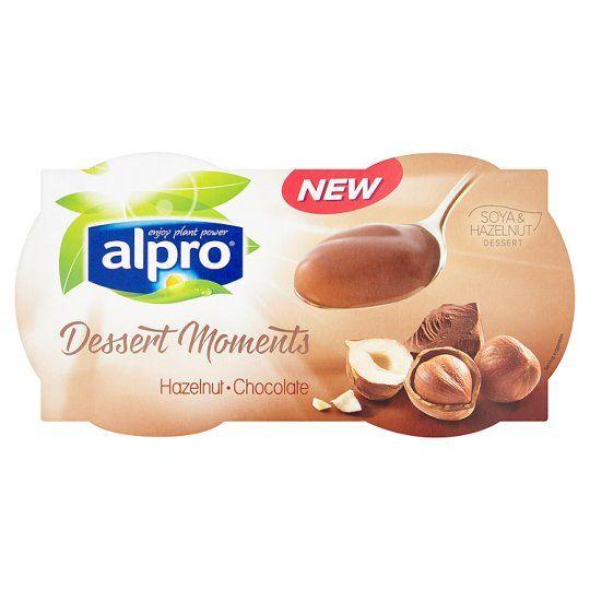 Alpro Dessert Moments Hazelnut Chocolate 4x125g Tesco Food