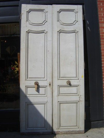 Elegant Antique French Doors C. 1790 Are From A House In Versailles And Are About 9