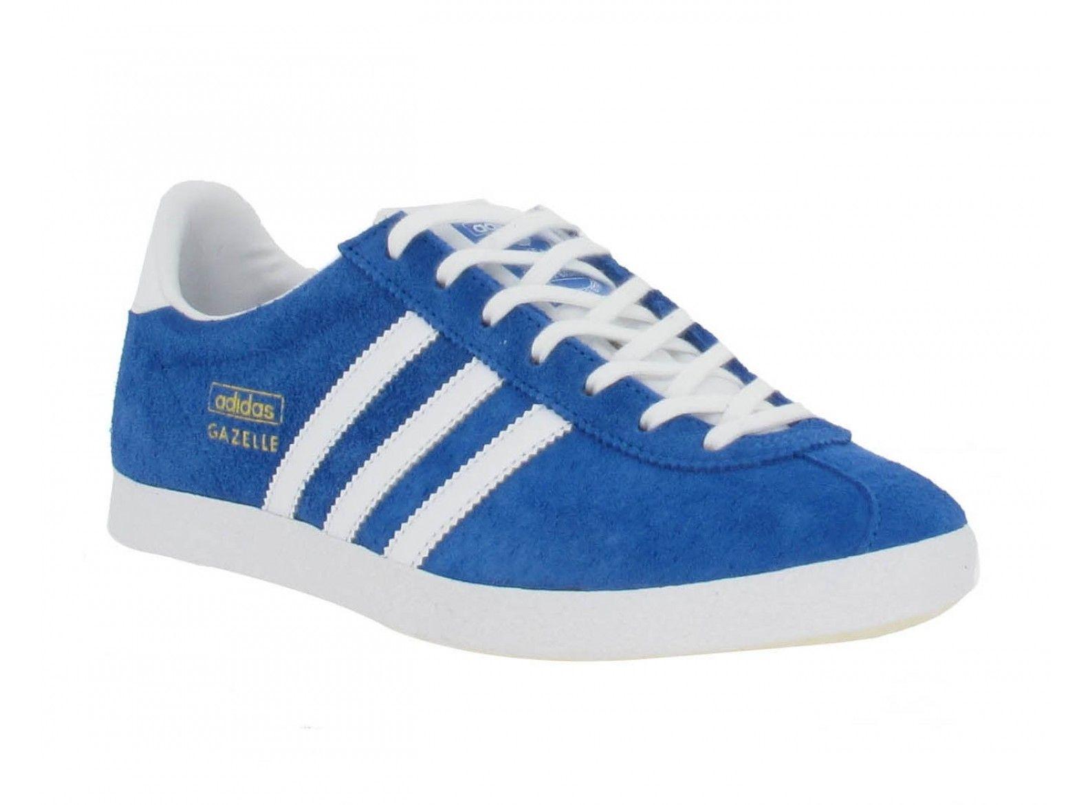 Gazelle Adidas Femme Bleu Marine