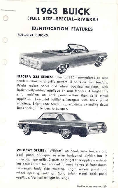 Astounding 1963 Buick Electra 225 Wildcat Lesabre Station Wagon Gmtry Best Dining Table And Chair Ideas Images Gmtryco