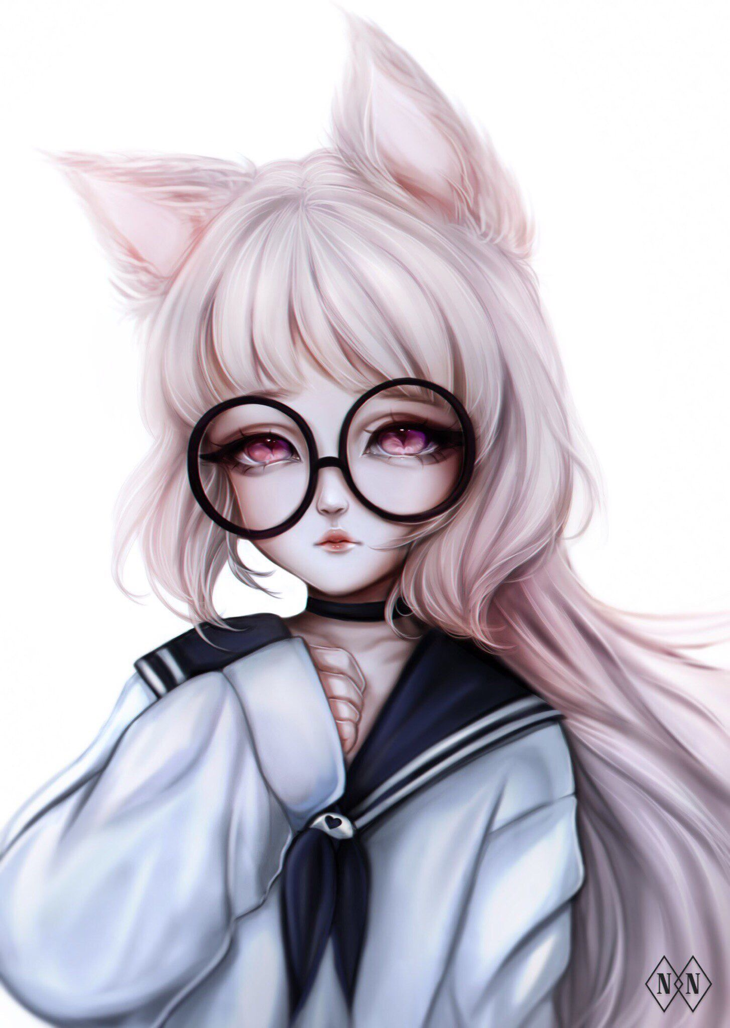 Pin by Anett on Pink baby | Pinterest | Anime, Neko and Kawaii