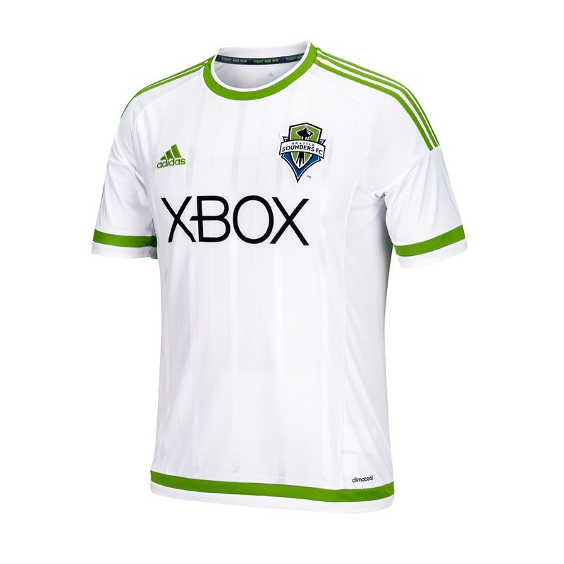 half off 36096 4e52d Seattle Sounders FC adidas Youth 2015 Secondary Replica ...