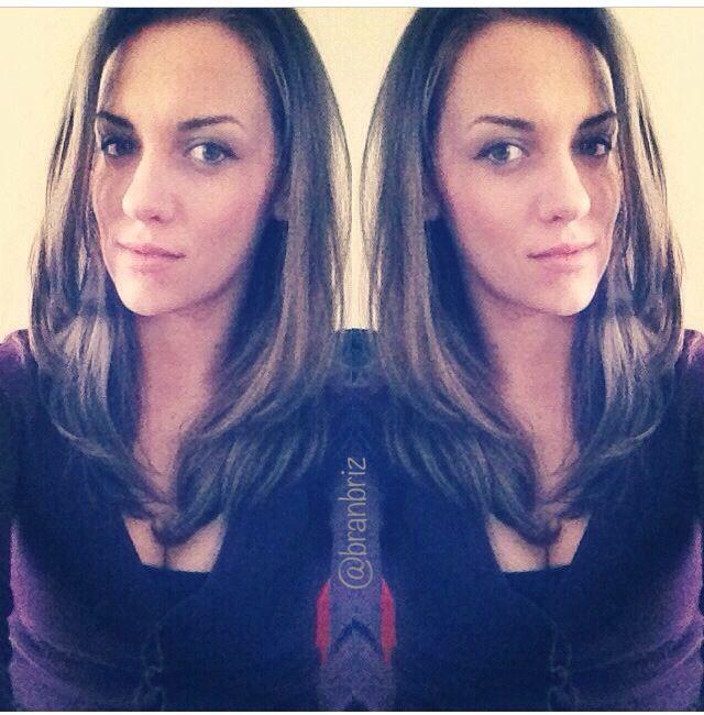 Instagram photo. IG pic. Brunette. Long hair. Photo by Branbriz  #shareIG