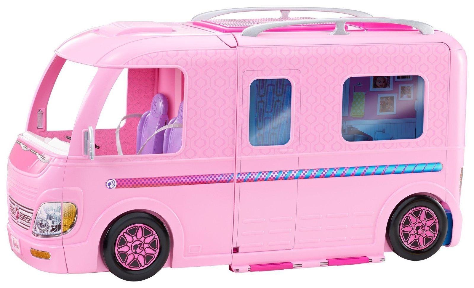 Barbie Camper House RV Pool Car Vehicle Furniture Accessories Dream Playset