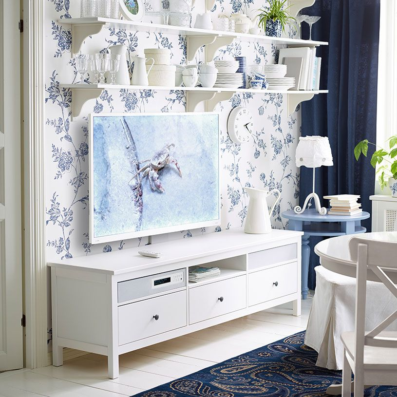 Porta Tv Shabby Ikea.Wyposazenie Domu Tv And Bookshelf Soggiorno Ikea Idee