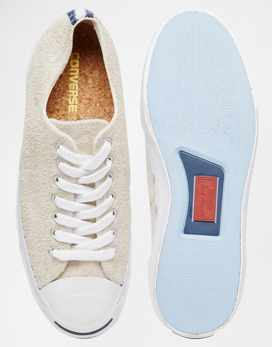Converse All Star Jack Purcell Suede Plimsolls  3  10d6956c1