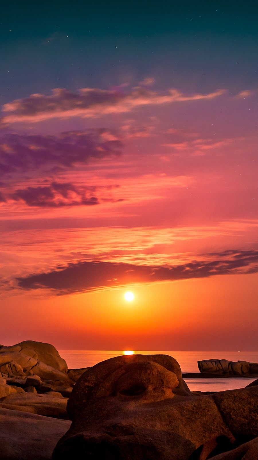 Sunset Wallpaper Iphone Android Background Followme Sunset Wallpaper Nature Wallpaper Sunset