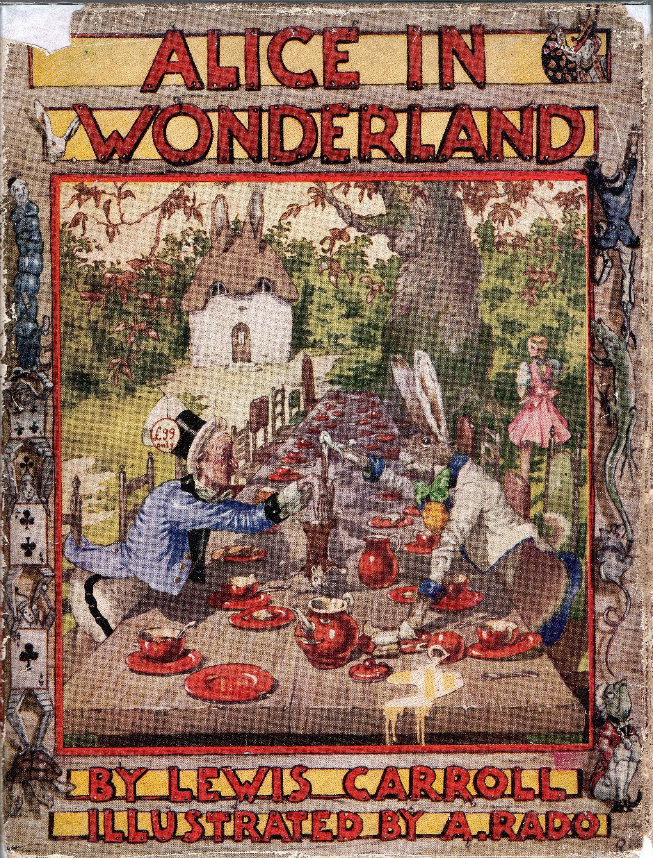 Alice in wonderland cartoon characters-2123