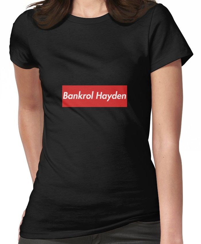 d6097ead0 Bankrol Hayden | Women's T-Shirt in 2019 | Products | T shirt ...