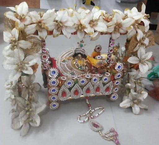 Decoration Ideas For Krishna Janmashtami Janmashtami Decoration