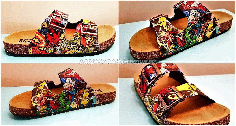 f135f9b3852 Marvel Comics Birkenstock Sandals. Everyday wear
