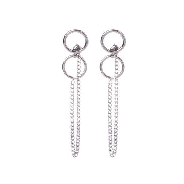 5pcs Nouveau Charme Plaqué Argent Anneaux fit European Beads taille au choix JZ1