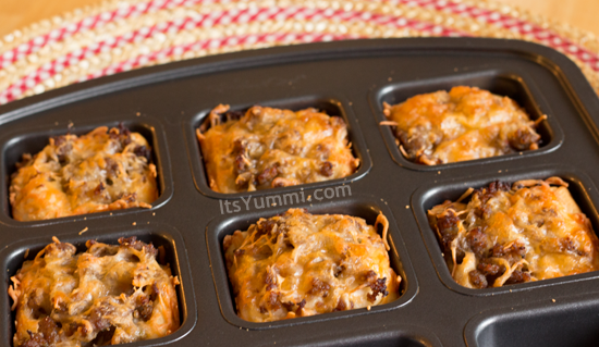 Cheesy Sausage Biscuits Recipe Brownie Pan Ideas