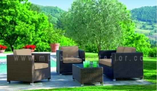 Conjunto De Jardin Sofas Asturias Muebles De Jardin Muebles De Exterior Decoracion De Exteriores