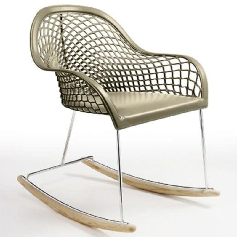 Rocking Chair Guapa Dn Mobilier Design Italien Haut De Gamme Petit Fauteuil Design Mobilier Design Fauteuil Design