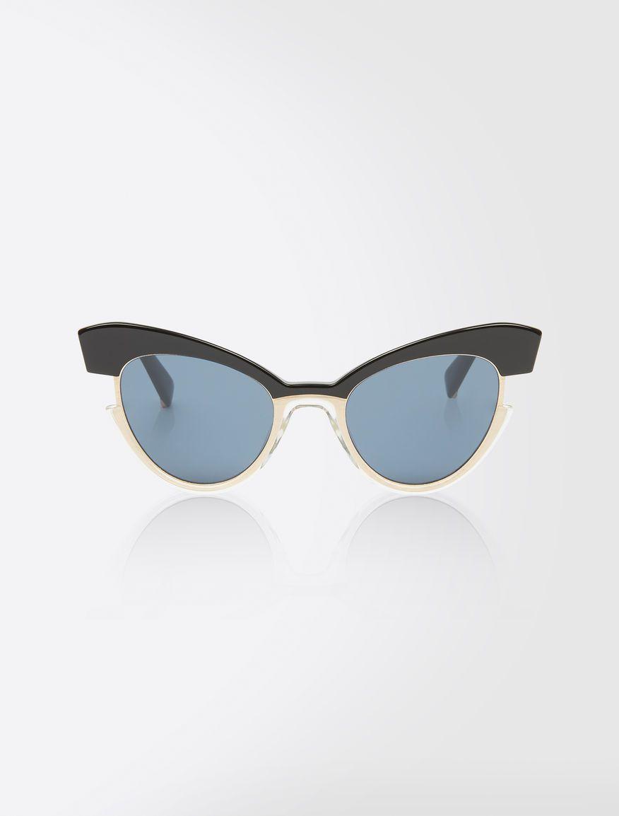 b0704a7f1ac2 Max Mara INGRID silver: Cat-eye sunglasses.   MY VISION   Cat eye ...
