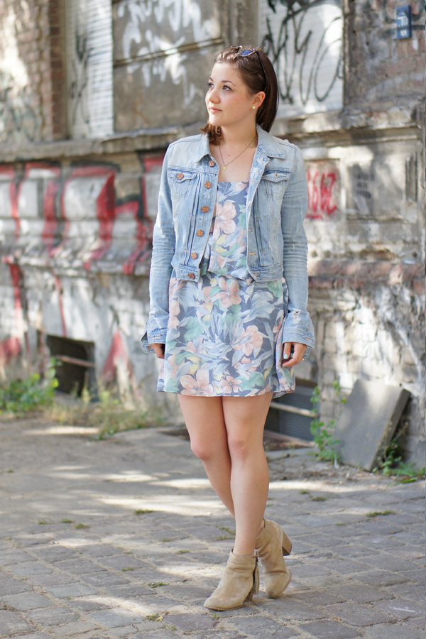 Jeansjacke kleid