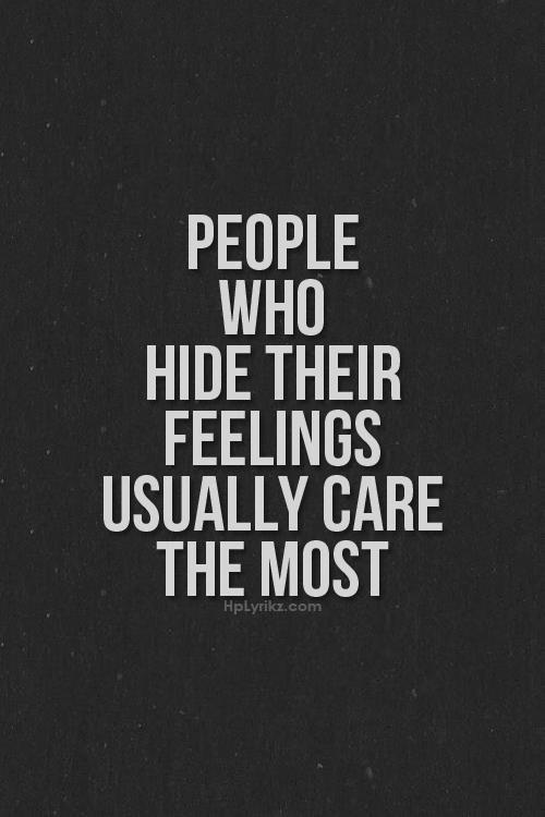 Hiding Feelings Quotes on Pinterest  Hiding Feelings...