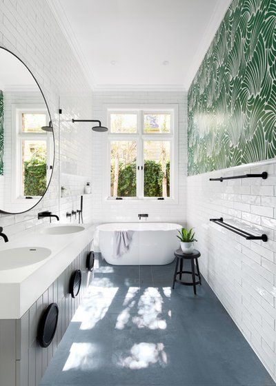 Photo of Trend Alert? 8 Narrow Bathrooms That Rock Tubs in the Shower – Rubenstein Supply Company